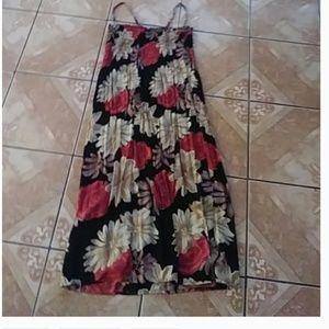 michael f. floral dress